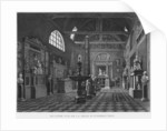Second view of the introductory room, Musee des Monuments Francais, Paris by engraved by Jean Baptiste Reville and Lavalee