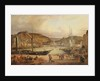 View of the commercial port at Cherbourg by Theodore Deslinieres
