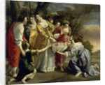Moses Rescued from the Nile by Orazio Gentileschi