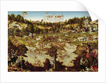 Hunt in Honour of the Emperor Charles V near Hartenfels Castle, Torgau by Lucas