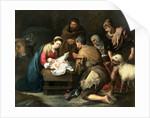 The Adoration of the Shepherds by Bartolome Esteban Murillo