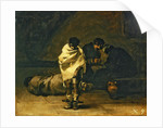 Confession in prison by Francisco Jose de Goya y Lucientes