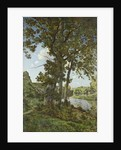 The Oaks of Chateau-Renard by Henri-Joseph Harpignies
