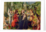 Angel musicians by Jan Gossaert