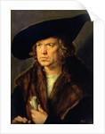 Portrait of an Unknown Man by Albrecht Dürer or Duerer