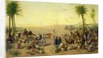 Arab Market by J. Cruciani