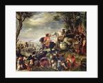 Battle of Marseilles by Eugene Deveria