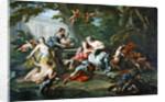 Renaud in the arms of Armide, 1730-39 by Jean-Baptiste van Loo