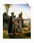 Abraham Turning Away Hagar by Emile Jean Horace Vernet