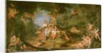 Armide Wishing to Hit Renaud by Charles Antoine Coypel