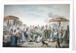 Fair during the period of the French Revolution by Etienne Bericourt
