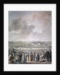 The Festival of the Federation at the Champ de Mars by Jacques Francois Joseph Swebach