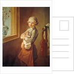 The Little Violinist by Nicolas-Bernard Lepicie