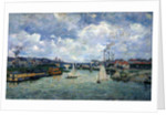 Charenton Port by Jean Baptiste Armand Guillaumin