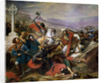 The Battle of Poitiers by Charles Auguste Steuben