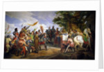 The Battle of Bouvines by Emile Jean Horace Vernet