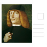 Portrait of a young man by Gentile Bellini