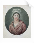 Portrait of Charlotte Corday by French School
