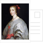 Henrietta-Maria of France by Anthony van Dyck