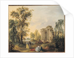 Lovers in the Country by Louis Joseph Watteau