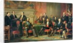 The Congress of Paris, 25 February to 30 March by Edouard Louis Dubufe