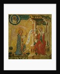Annunciation by Master of the Cycle of Vyssi Brod