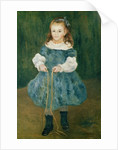 Girl with a skipping rope by Pierre Auguste Renoir