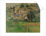 The Hermitage at Pontoise by Paul Cezanne