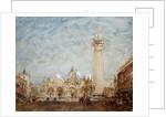 Saint Mark's Square in Venice by Felix Ziem