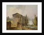 The Ancient Temple by Hubert Robert