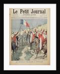 The French flag in In-Salah by Oswaldo Tofani