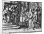 Life of Christ, Christ before Pontius Pilate by Henri Lerambert