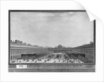 Garden of the Palais Royal by Louis-Nicolas de Lespinasse