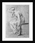 Camilla, study for 'The Oath of the Horatii' by Jacques Louis David
