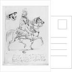 Equestrian portrait of Prince Joachim Murat by Baron Antoine Jean Gros