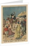 Arab agitator preaching the Holy War in Tripolitania by French School