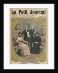 The new President of the French Republic, Raymond Poincare, with his family by French School