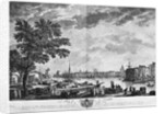 Port of La Rochelle, seen from the small shore by Claude Joseph Vernet