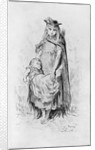 Poor girl with a child in London by Gustave Dore