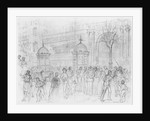 Album of the Siege of Paris, Boulevard Montmartre by Gustave Dore
