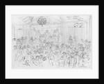 Album of the Siege of Paris, Election meeting rue Maison Dieu, Plaisance by Gustave Dore