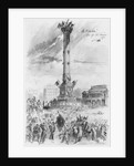 Album of the Siege of Paris, the Bastille by Gustave Dore