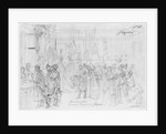 Album of the Siege of Paris, Maison Debos, boulevard Haussmann by Gustave Dore