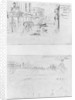 Album of the Siege of Paris, Rue des Accacias et rue de la Carriere 5th March 1871, batteries on the Buttes Montmartre by Gustave Dore