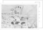 Temple of the Sibyl, Tivoli by Claude Joseph Vernet