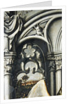 Architectural details from the Aix Annunciation by Master of the Aix Annunciation