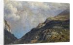 Mountainous landscape by Gustave Dore