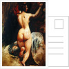Female nude seen from the back by William Etty