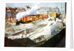Construction of the new Orleans station, Quai d'Orsay by Victor Marec