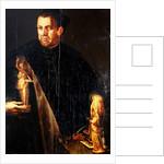 Portait of Florentine collector Vincenzo Borghini by Italian School